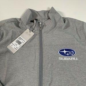 Adidas Men's Subaru Windbreaker Jacket Size L New